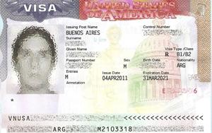 Hoja de Pasaporte con datos del ciudadano